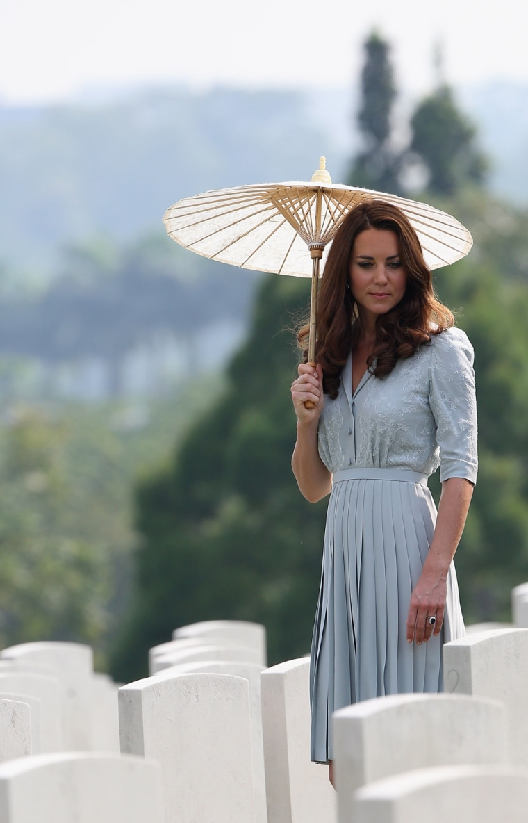 Image: The Duke And Duchess Of Cambridge Tour Southeast Asia - Day 3