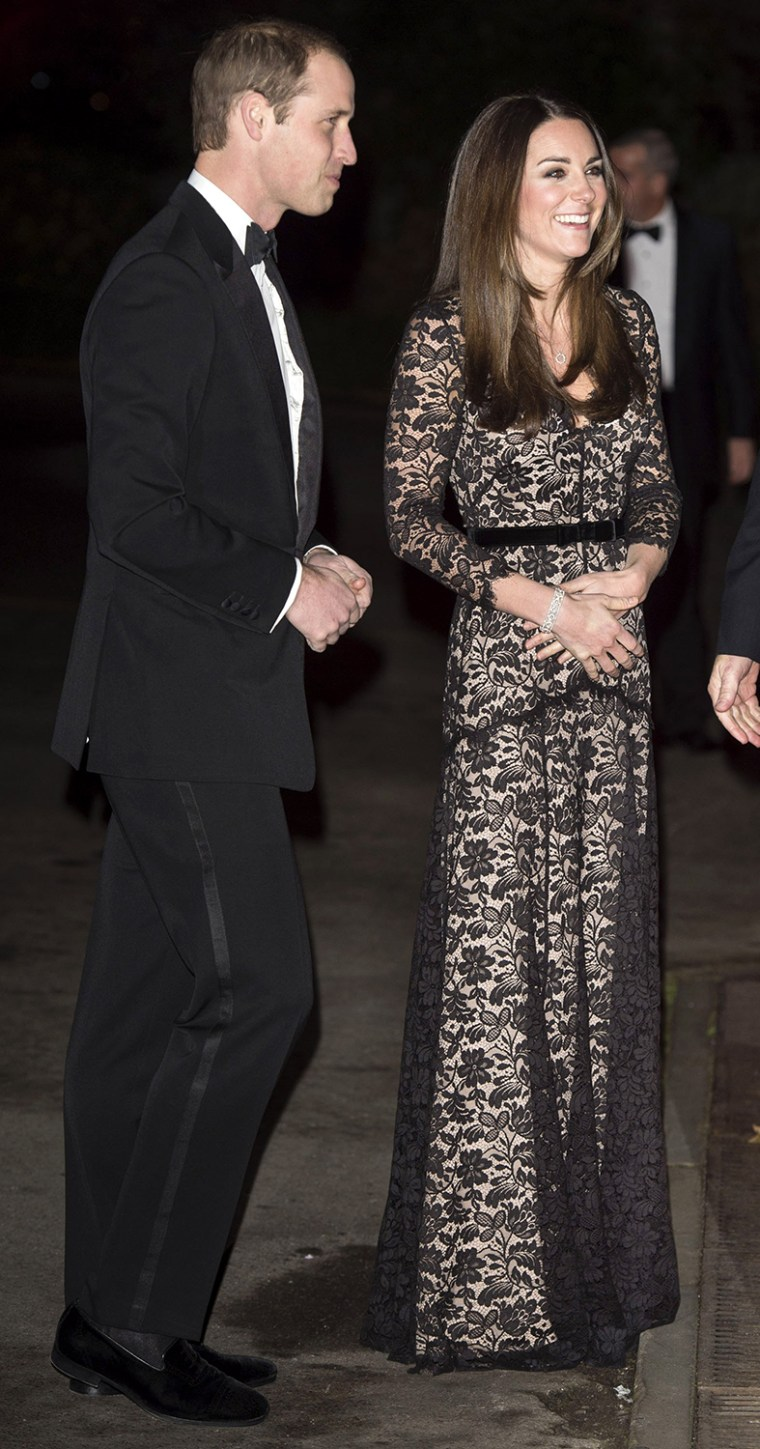 Image: The Duke And Duchess Of Cambridge Attend Screening of David Attenborough's Natural History Museum Alive 3D