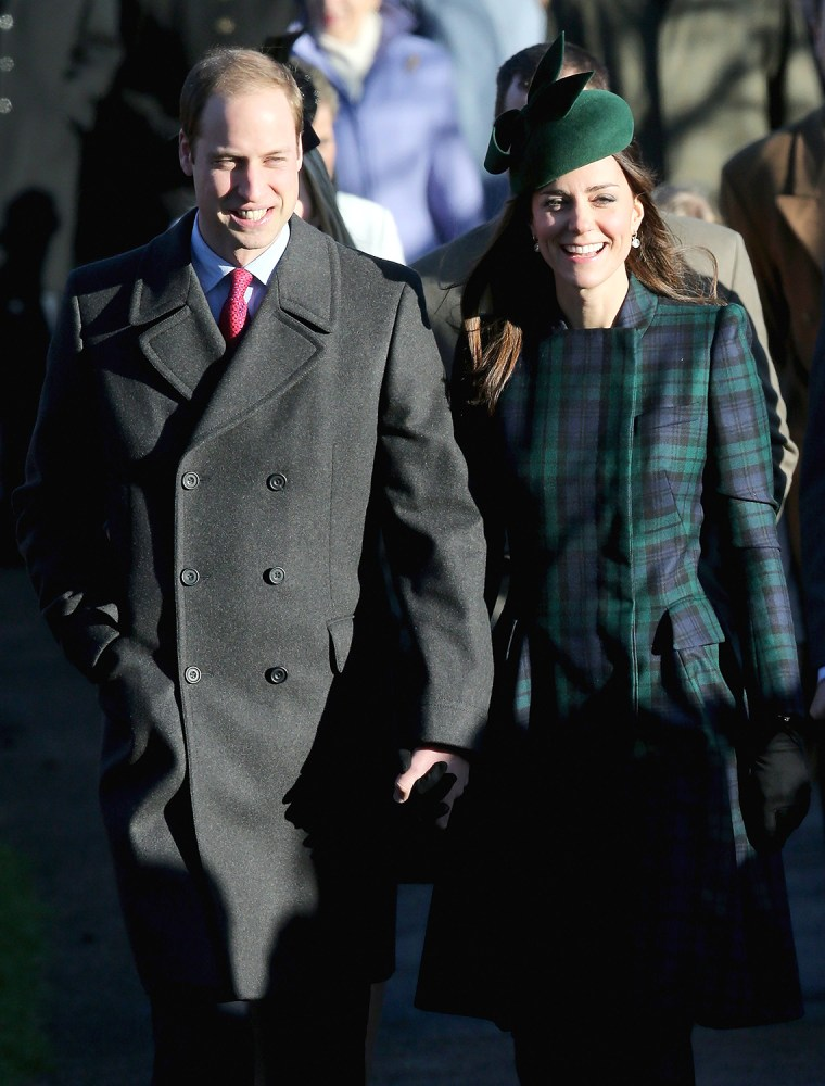 Image: The Royal Family Attend Christmas Day Service At Sandringham