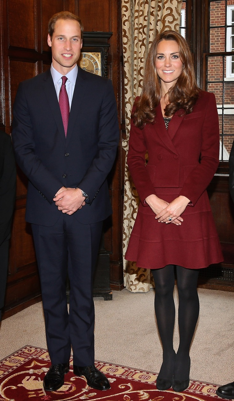 Image: The Duke And Duchess Of Cambridge Meet Middle Temple Scholars