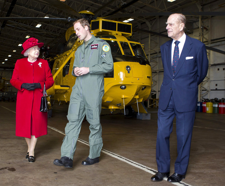Image: Prince William Leaves The Armed Forces