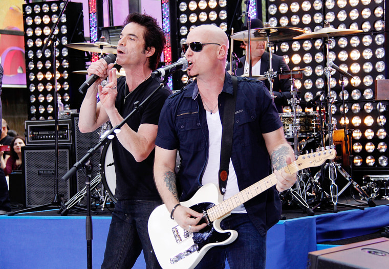 """Image: Train Performs On NBC's """"Today"""""""