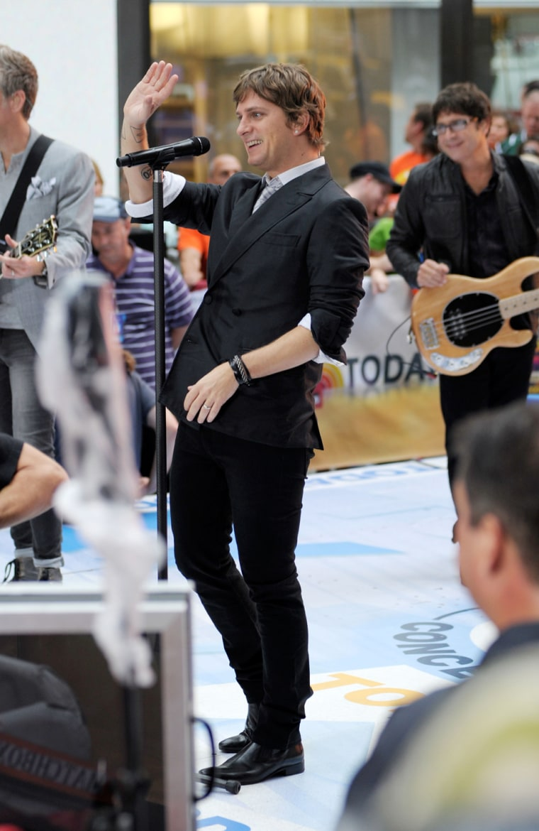 """Matchbox 20 Performs On NBC's """"Today"""""""