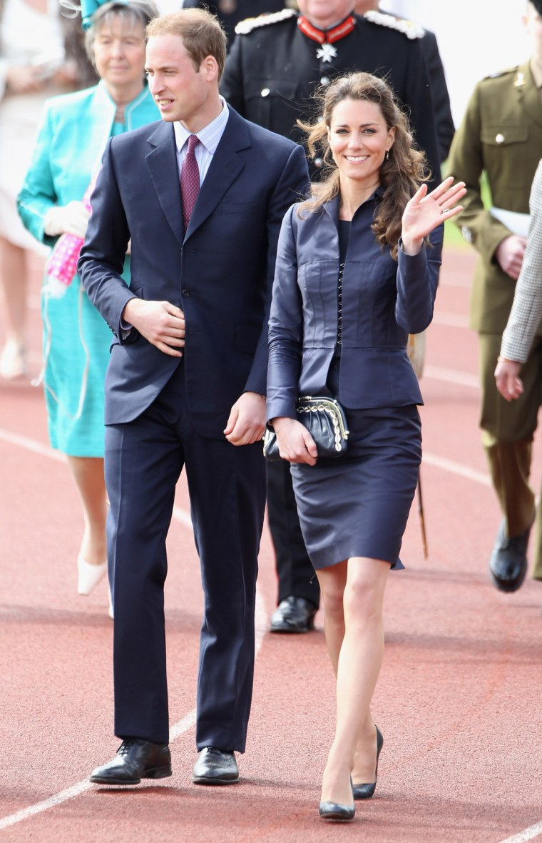 Image: Prince William And Kate Middleton Visit Darwen