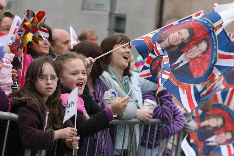Image: Britain Prince William Kate Middleton Darwen Visit