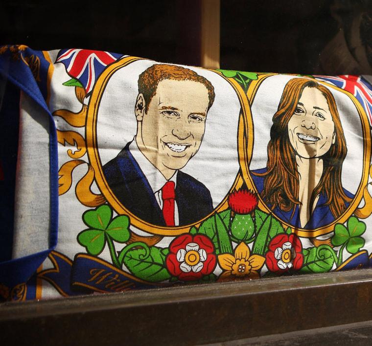 Image: Memorabilia On Sale Ahead Of The Royal Wedding In April