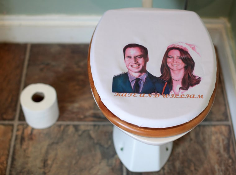 Prince William And Kate Middleton Toilet Seat Cover