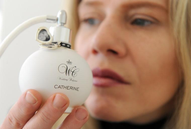 Perfume creator Kim Weisswange presents