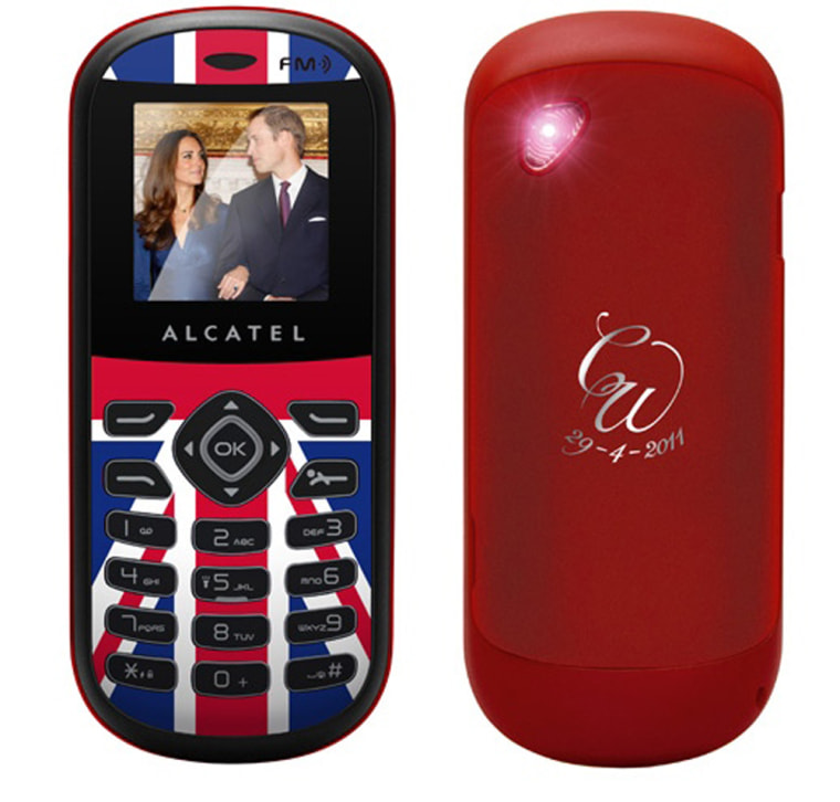 Celebrate the royal wedding with a £14.99 Alcatel PAYG phone