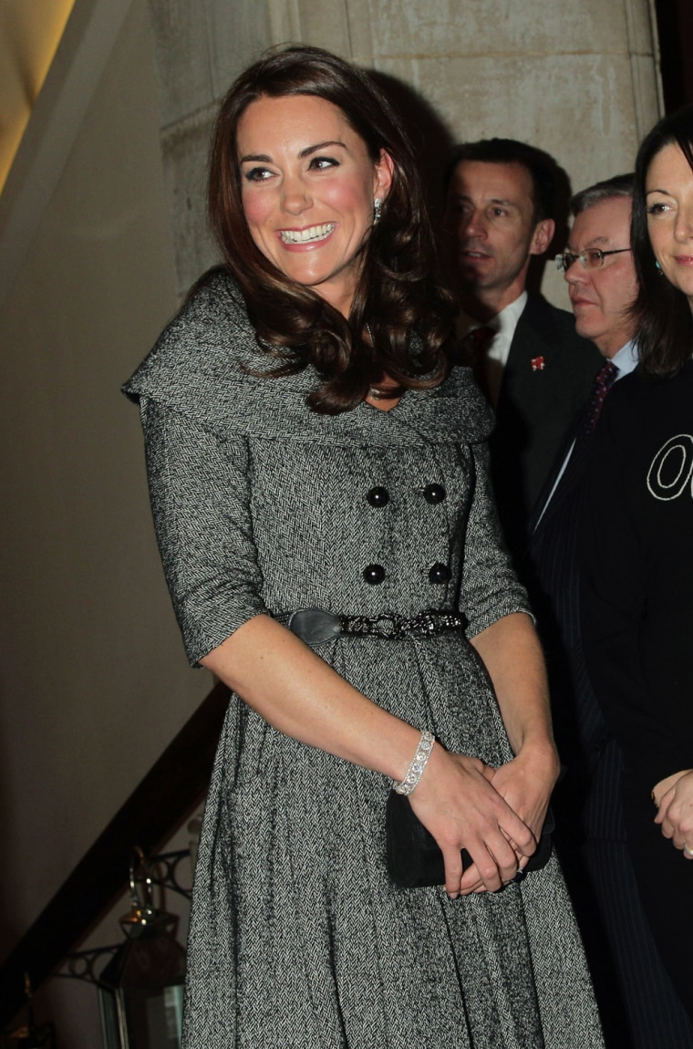 Image: Kate attends Lucian Freud Portraits exhibition