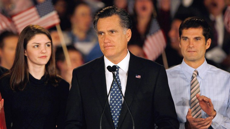 Image: GOP Presidential Candidate Mitt Romney Holds SC Primary Night Gathering