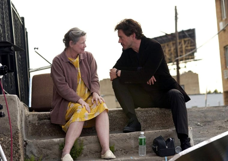 """Dianne Wiest as Flori and Robert Downey Jr. as adult Dito  """"A Guide to Recognizing Your Saints"""" is a coming-of-age drama about a boy growing up in Astoria, N.Y., during the 1980s. As his friends end up dead, on drugs or in prison, he comes to believe he has been saved from their fate by various so-called saints.   co-produced by Robert Downey Jr. Won - Sundance Film Festival Special Jury Prize - Dramatic"""