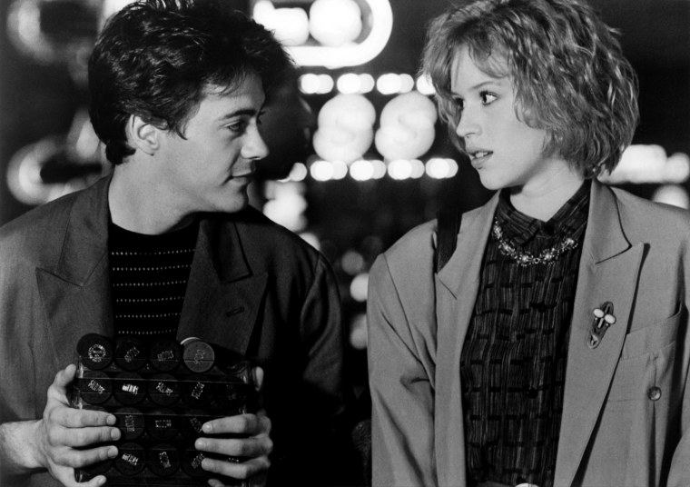 THE PICK-UP ARTIST, Robert Downey Jr., Molly Ringwald, 1987, TM and Copyright (c)20th Century Fox Film Corp. All rights reserved.