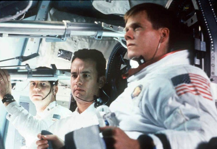 An undated photo showing actors Bill Paxton (L), T