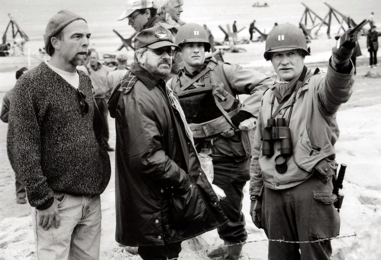 Dale Dye (Far Right Who Is Hollywood's Favorite War Movie Consultant)