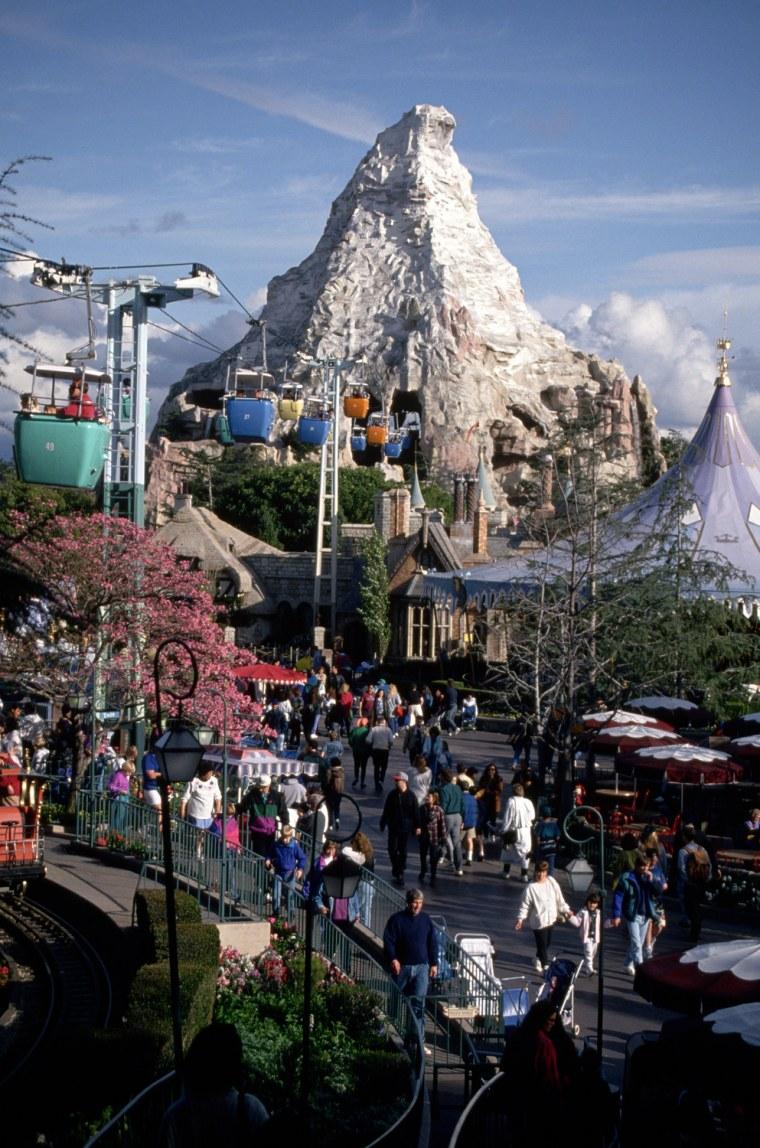 Image: The Matterhorn at Disneyland
