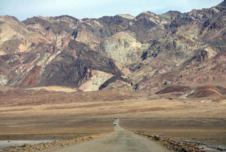 Image: California's Death Valley is pictured 19