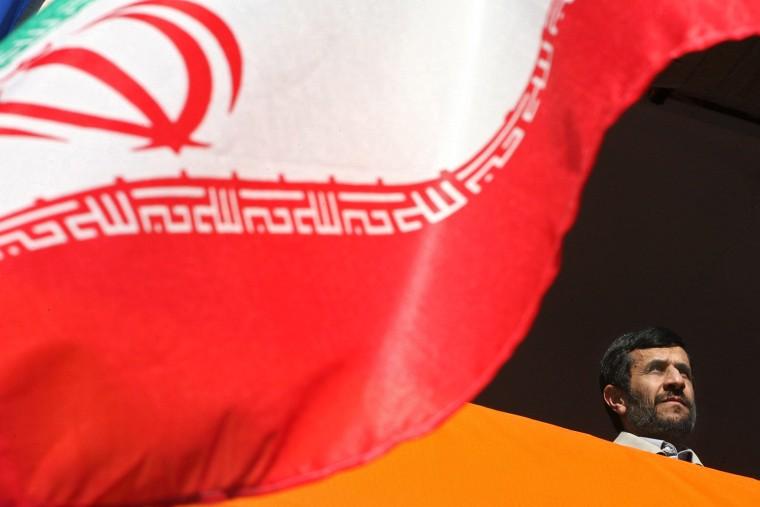Mahmoud Ahmadinejad in Kermanshah