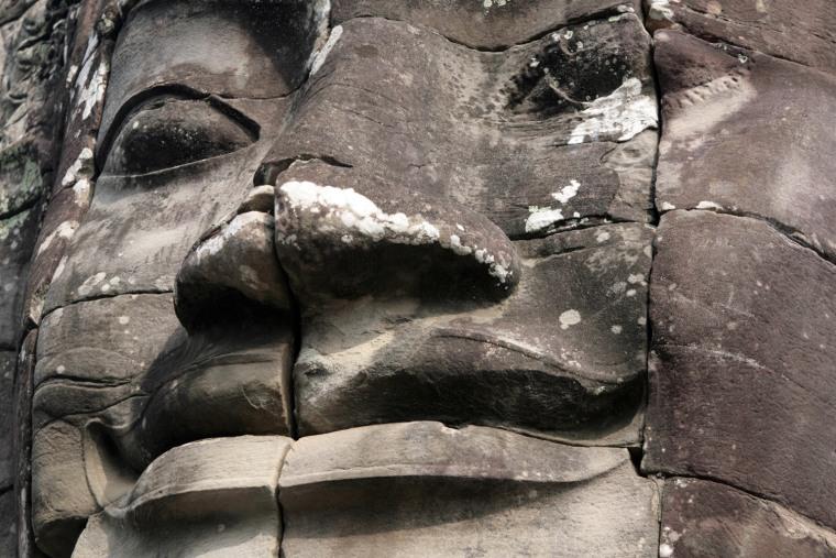 Image: Image taken inside the Bayon temple, near siem Reap, Cambodia