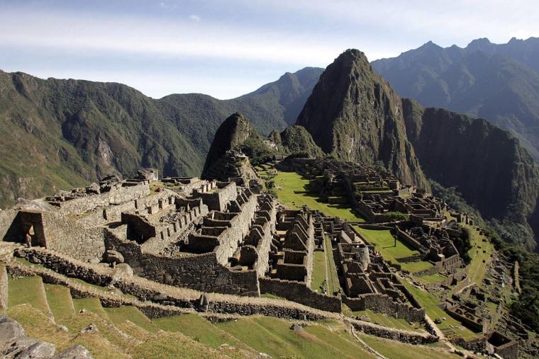 (FILES) General view of the Inca citadel