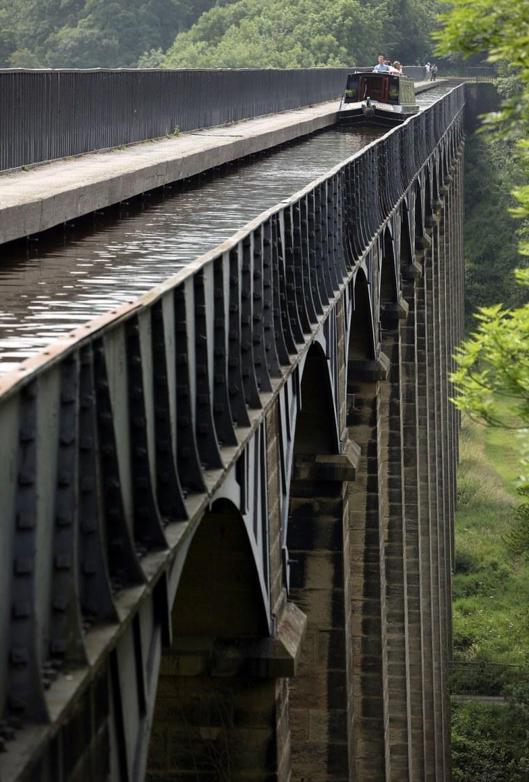 Image: Pontcysyllte Aqueduct and Canal