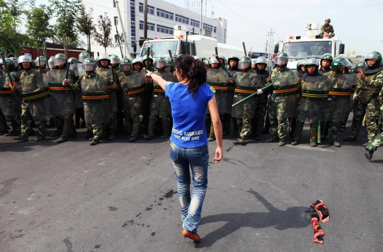 Image: Riots Occur In China's Urumqi Ethnic Region