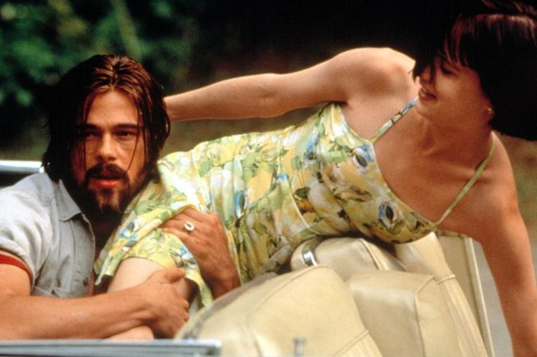 KALIFORNIA, Brad Pitt, Juliette Lewis, 1993