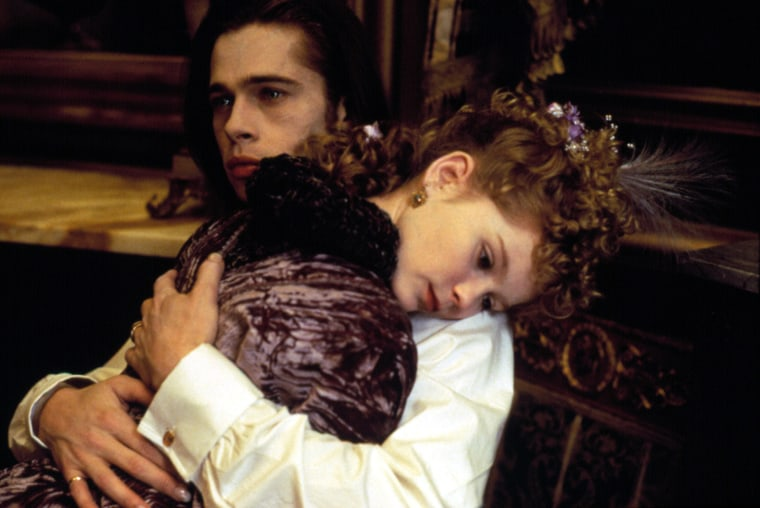 INTERVIEW WITH THE VAMPIRE, Brad Pitt, Kirsten Dunst, 1994, (c) Warner Brothers/courtesy Everett Collection