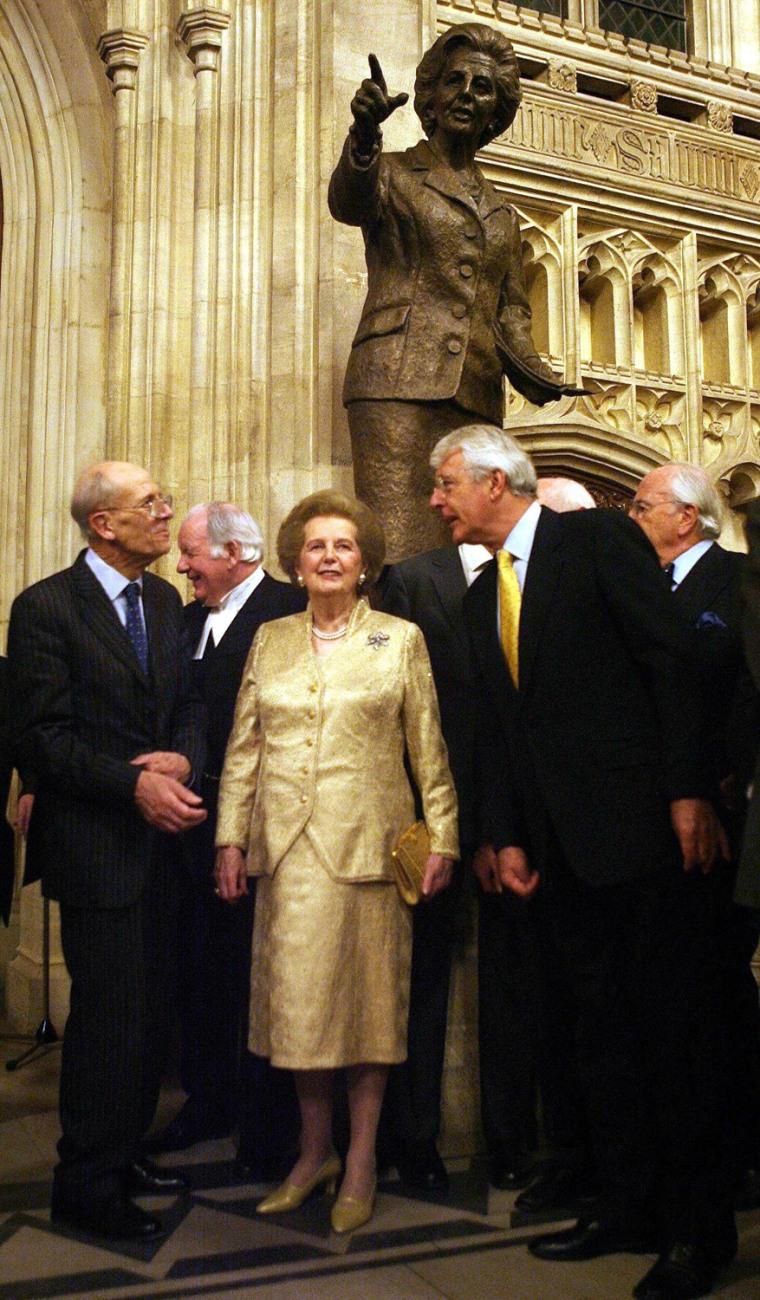 Former British prime minister Baroness M