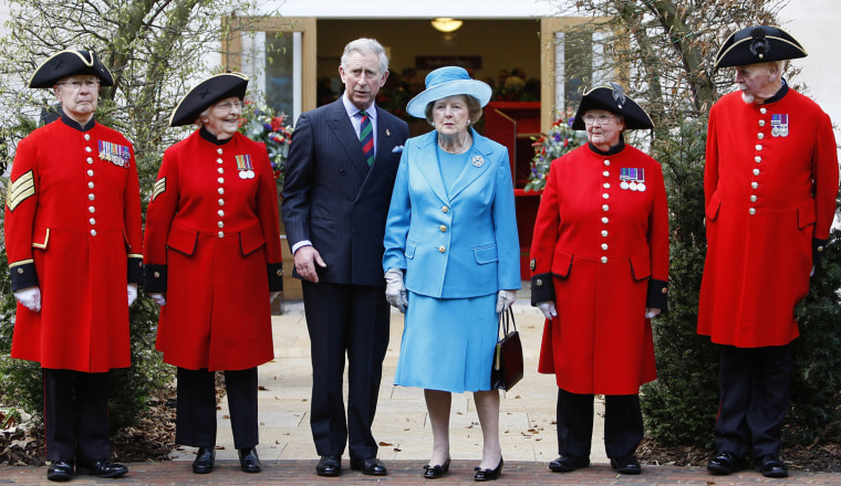 Prince Of Wales Opens Margaret Thatcher Infirmary At Royal Hospital