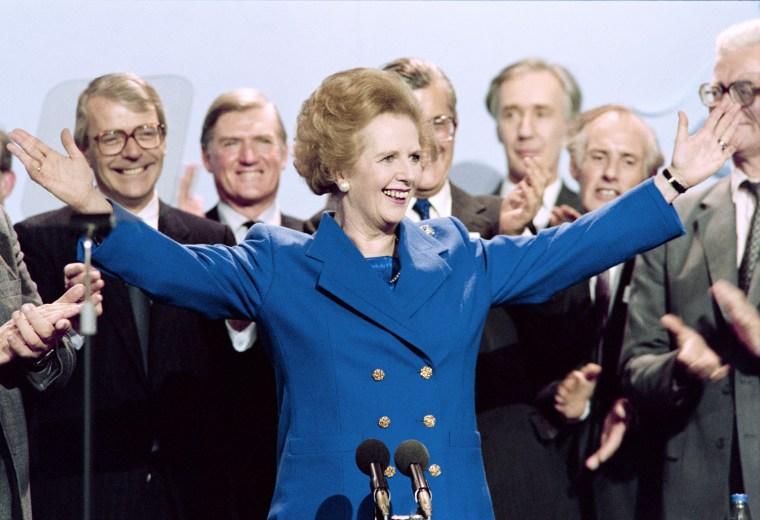 Image: BRITAIN-POLITICS-THATCHER-OBIT-FILES
