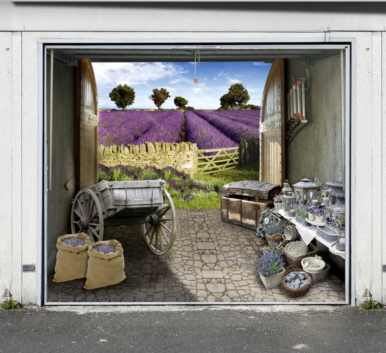 Garage doors gone wild for Garajes originales