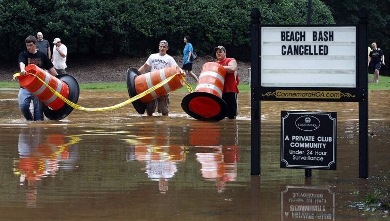 Deadly Floods Hit Georgia