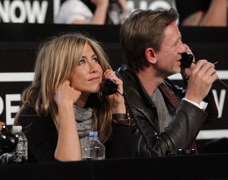Image: Jennifer Aniston, Daniel Craig