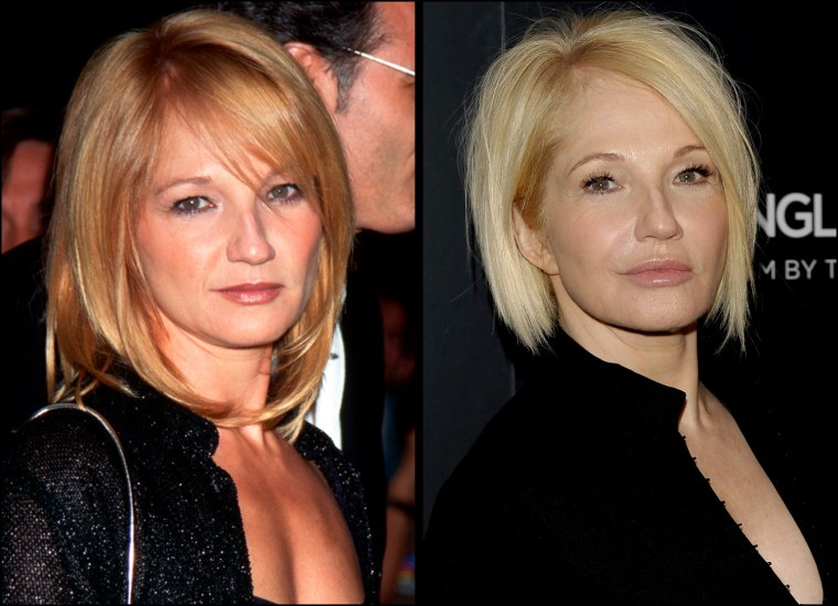 """1996, Lincoln Square, New York, New York, USA --- 1996-New York, NY: Actress Ellen Barkin is shown as she attended the premiere of the movie """"The Fan"""" at a Sony Theater in New York.   Actress Ellen Barkin attends a special screening of """"A Single Man"""" hosted by The Cinema Society and Bing at MOMA on December 6, 2009 in New York City."""