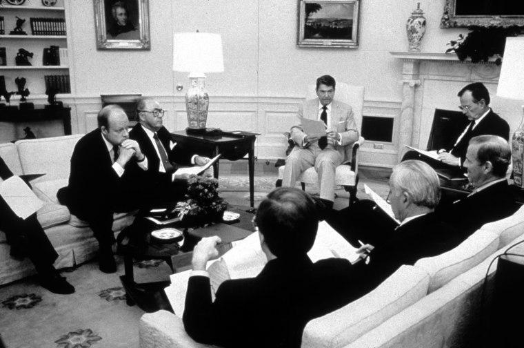 Reagan's Advisors
