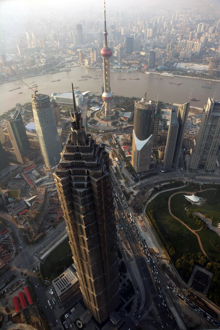 Image: Views Of Financial Center Of Shanghai