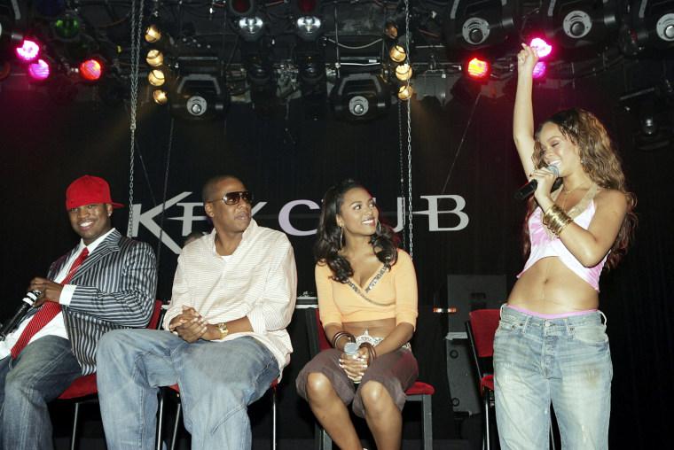 Jay - Z hosts The Teen People Listening Lounge