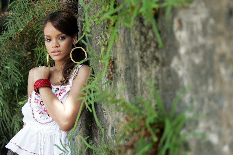 MSN Hosts Rihanna In Concert In Barbados