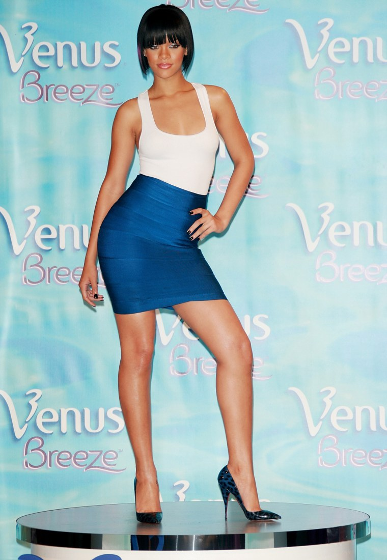 "Rihanna Named 2007 Venus Breeze ""Celebrity Legs Of A Goddess"""