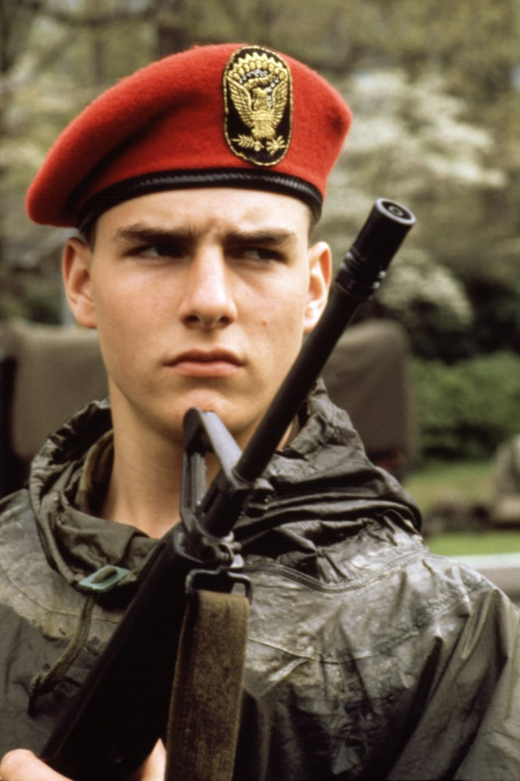 TAPS, Tom Cruise, 1981. TM and Copyright (c) 20th Century Fox Film Corp. All rights reserved.
