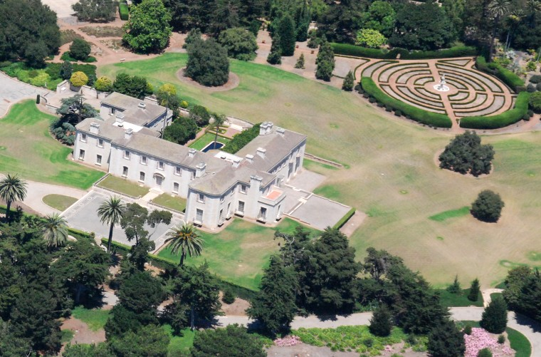 Bellosguardo, the mysterious Clark family estate in Santa Barbara, Calif. Caretakers and gardeners have worked at the Clark estate for generations — without meeting Huguette Clark
