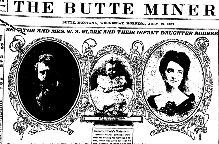 The Butte Miner, 1904.