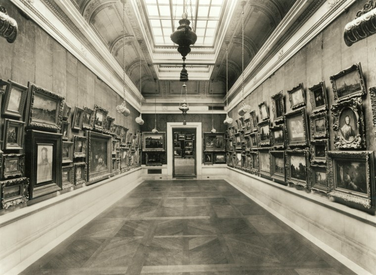 One of the four art galleries in the William Andrews Clark mansion on Fifth Avenue.
