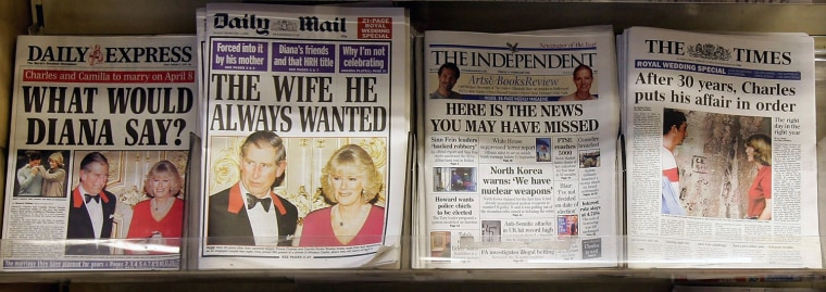 Image: News Of Impending Royal Wedding Hits Newstands
