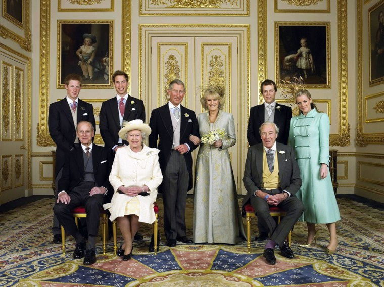 Image: TRH Prince Charles & The Duchess Of Cornwall Attend Blessing At Windsor