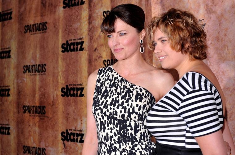 Celebrity moms 2010