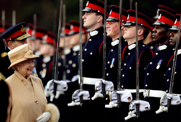 Prince Harry attends The Sovereign's Parade - Sandhurst