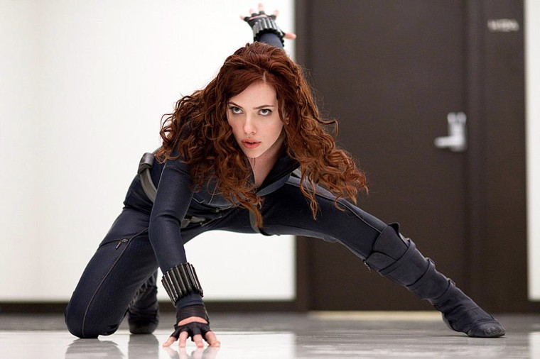 Natalie Rushman (Scarlett Johansson), aka Black Widow