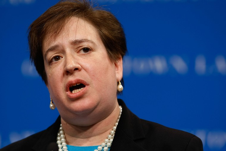 Solicitor General Elena Kagan Addresses Georgetown Law Center Conference